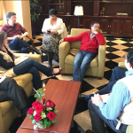 La Misión de Veeduría Electoral de la #OEAenColombia se reunió con el candidato presidencial por @ColombiaHumana_ @petrogustavo para conocer su perspectiva acerca del proceso electoral xa la segunda vuelta