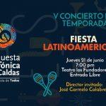 V concierto de temporada Fiesta Latinoamericana