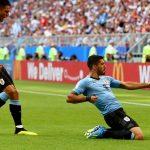 Uruguay supero 2-0 a Rusia 9
