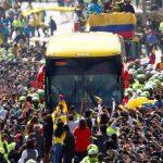 Llego la Selección Colombia