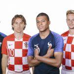 Francia-Croacia Por la Copa Mundial Rusia 2018