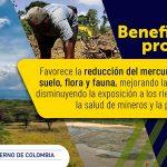 Entra en vigencia prohibición del mercurio en la minería de oro en Colombia
