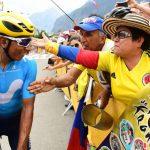 Etapa 13 Nairo con los Colombianos