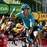 Magnus Cort celebra triunfo etapa 15 A