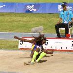 Caterine Ibargüen – Salto largo femenino.
