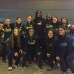 Selección Colombia de baloncesto sub18 femenina. Foto: @fecolcesto