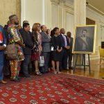 Líderes de la comunidad afrocolombiana acompañaron al Presidente de la República este jueves en la entrega del cuadro con la figura del ex presidente Juan José Nieto, quien había sido ignorado históricamente.