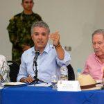En compañía de los ministros de Justicia y Defensa, el Presidente de la República analizó la seguridad en Tumaco.