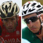 Quintana, Nibali, Aru y Valverde.