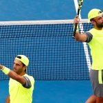 Juan Sebastián Cabal y Robert Farah. Foto: Federación Colombiana de Tenis