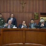 Ministró de Defensa en Comisión Segunda de Senado, tema drones (2)