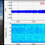 emisiones de ceniza en el Volcán Nevado del Ruiz