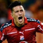 Germán Cano anotó dos tantos frente a Patriotas y escala en la tabla de goleadores.
