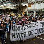 Marchas estudiantiles octubre 2018