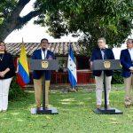 Los presidentes de Colombia, Iván Duque Márquez, y de Honduras, Juan Orlando Hernández, sellaron este domingo una alianza para desarrollar acciones en varios frentes, entre ellos el mercado internacional del café.
