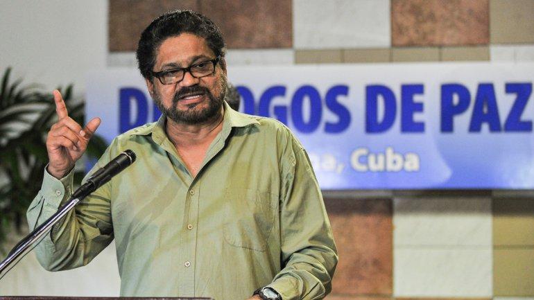 Jefe negociador de la guerrilla Iván Márquez