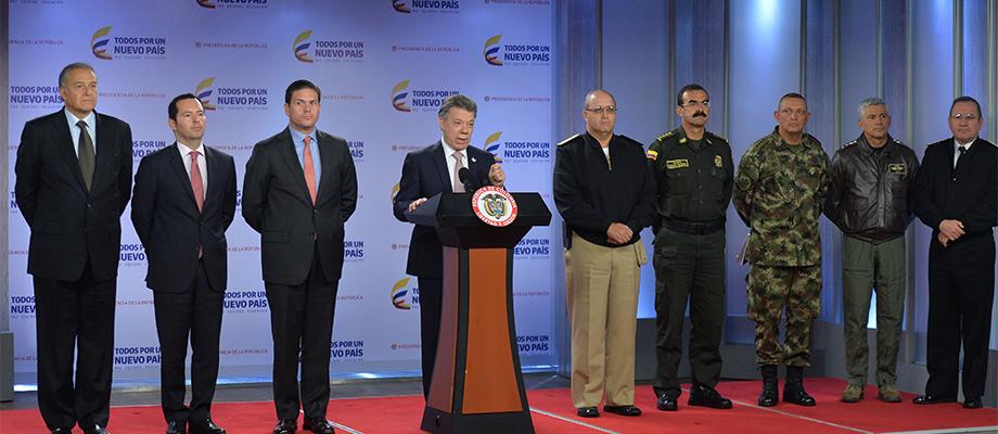 """""""Este año 2015 hemos reducido las acciones del crimen organizado casi un 50 por ciento"""""""