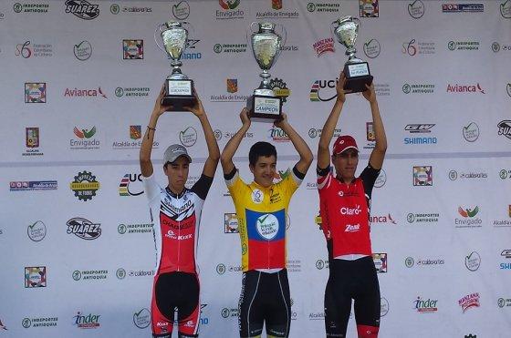 Richard Carapaz, campeón de la Vuelta de la Juventud 2015