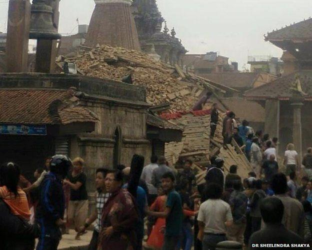 Terremoto en Nepal 2
