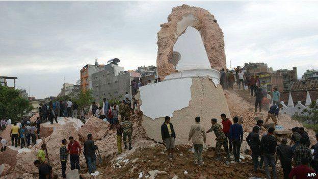 Terremoto en Nepal 3