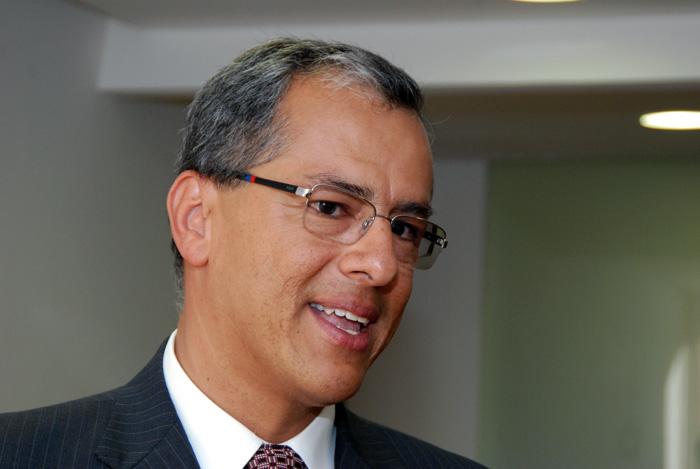 Profesor Diego Hernández, vicerrector de la U.N. Sede Bogotá.