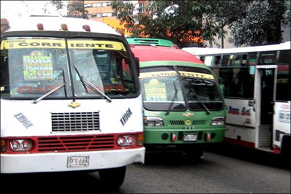 Buses Bogota