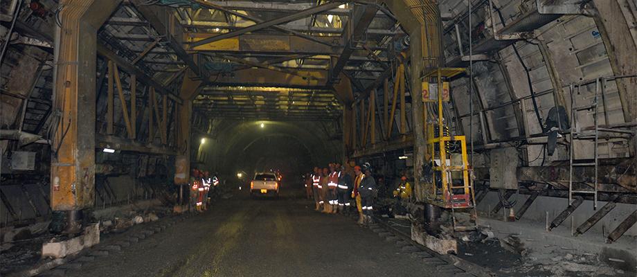 Culminó excavación de los 8,65 kilómetros del Túnel de la Línea entre Cajamarca y Calarcá