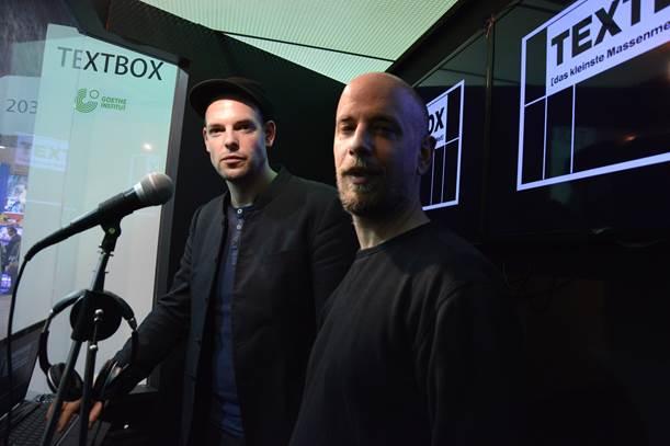 Dalibor Marković y Bas Böttcher, poetas de una caja
