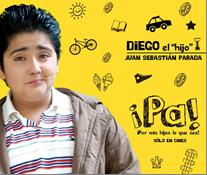 Diego es representado por Juan Sebastián Parada
