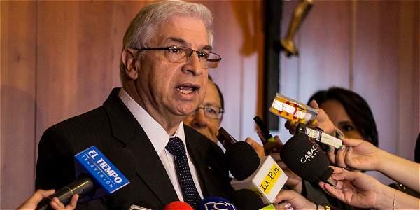 El vicepresidente de la Corte Suprema, Fernando Giraldo