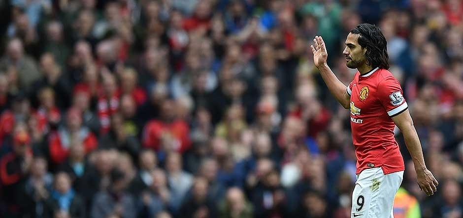 Falcao agradece a los hinchas del manchester United