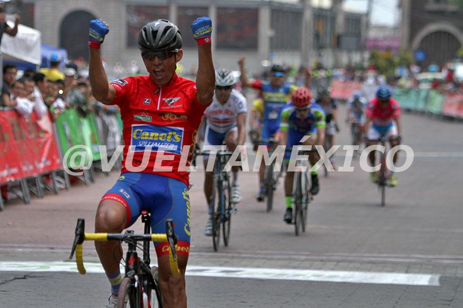 Francisco Colorado gano vuelta a Mexico