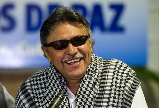 Jesús Santrisch de las FARC-EP