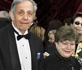 Jhon Nash y su esposa Alicia.