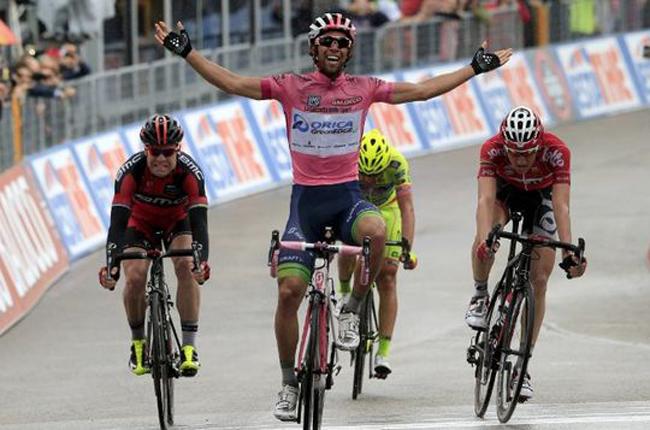 Matthews ganó tercera etapa del Giro