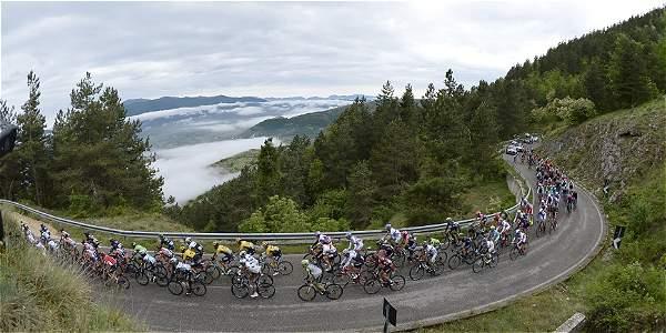 Pelotón del Giro de Italia.