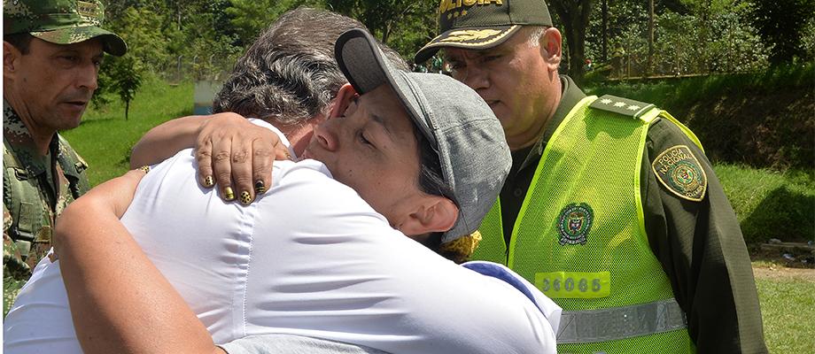 Presidente Santos expresa su solidaridad a alcaldesa de Salgar, Antioquia