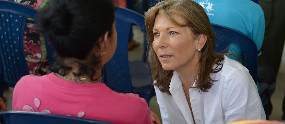Primera Dama en Salgar Antioquia