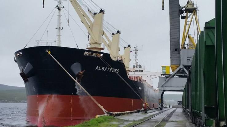 Puerto de Mursmank en Rusia