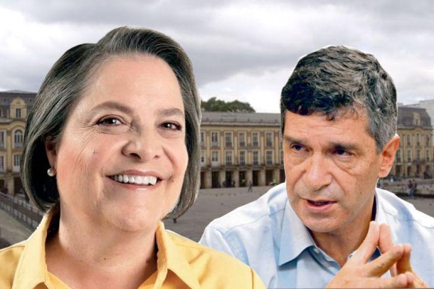 Rafael Pardo y Clara López