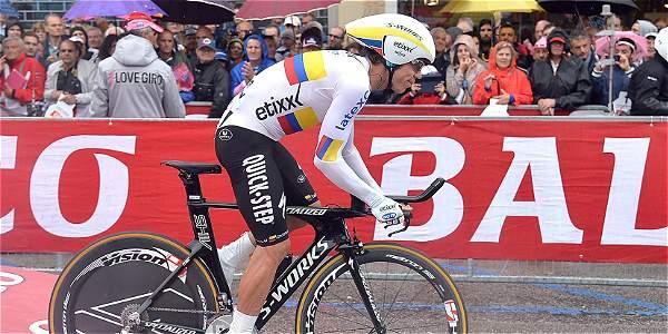 Rigoberto Uran en el Giro