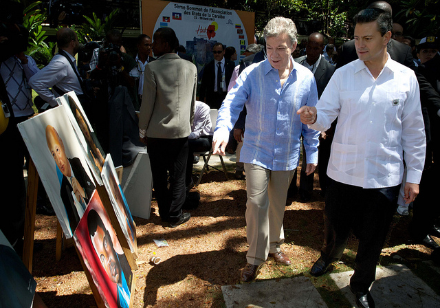 Santos y Peña Nieto
