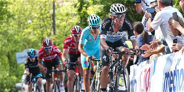 Uran Septimo en la Octava Etapa del Giro