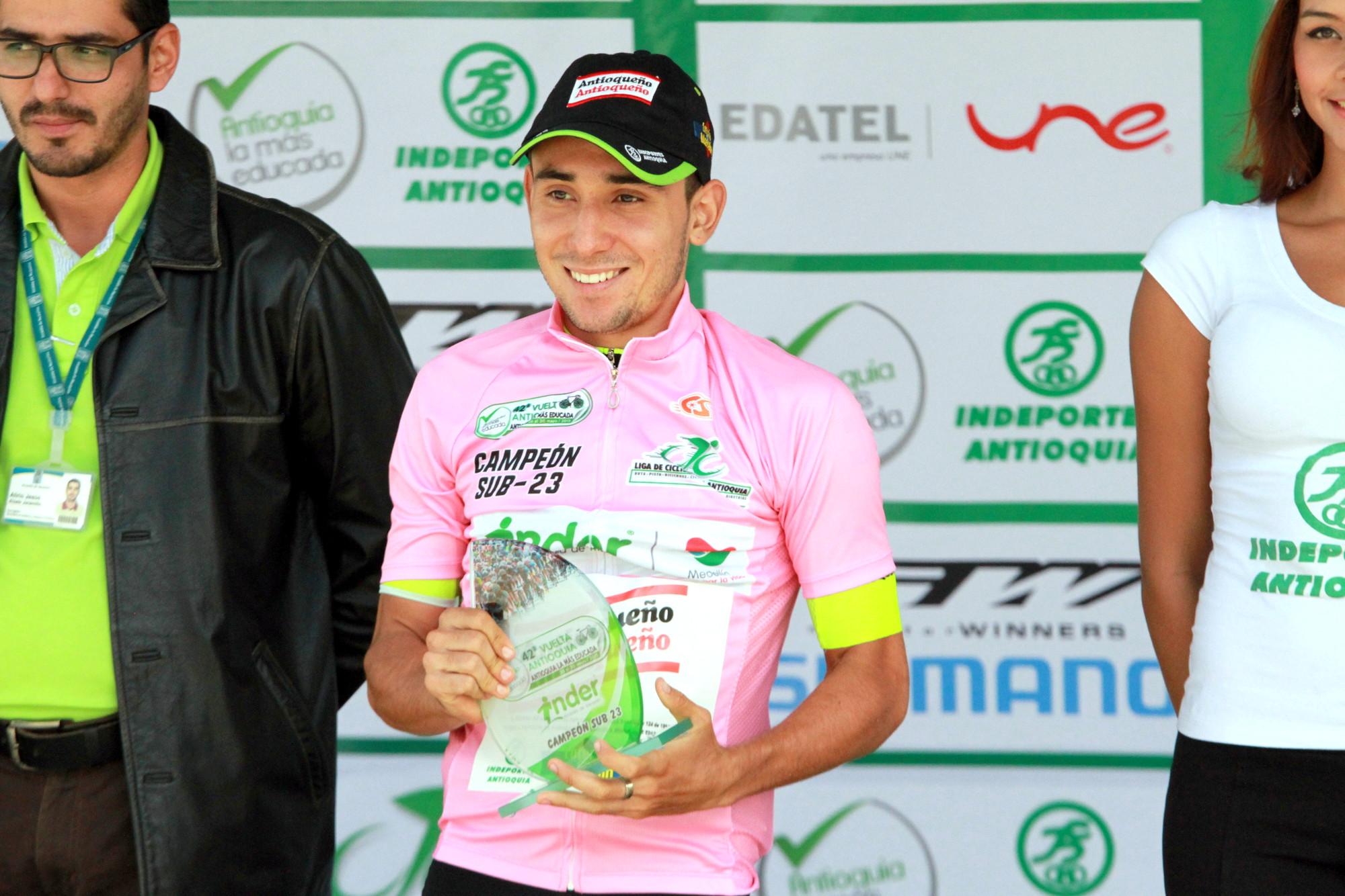 Wilson Cardona campeón sub 23 Vuelta a Antioquia