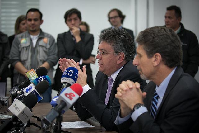 firma del Acuerdo de Intercambio de Información con Propósitos Tributarios COL_EEUU3