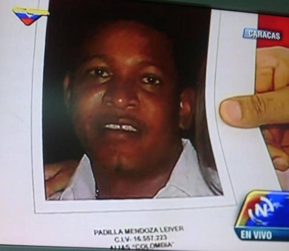venezolano Leiver Padilla Mendoza