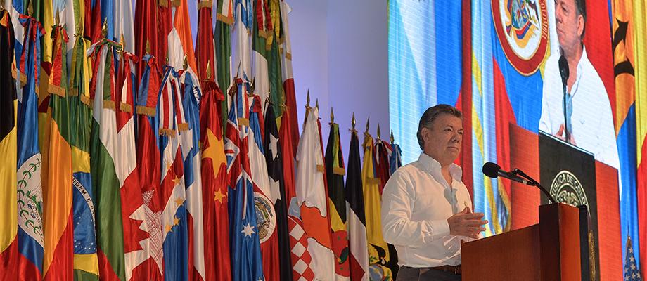 'Colombia busca promover una solución integral que ataque todos los eslabones de la cadena del narcotráfico de forma diferenciada'