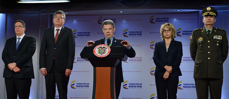 Al término del Consejo de Ministros, el Presidente ordenó intensificar la lucha para erradicar el contrabando