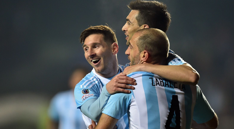 Argentina Humillo a Paraguay