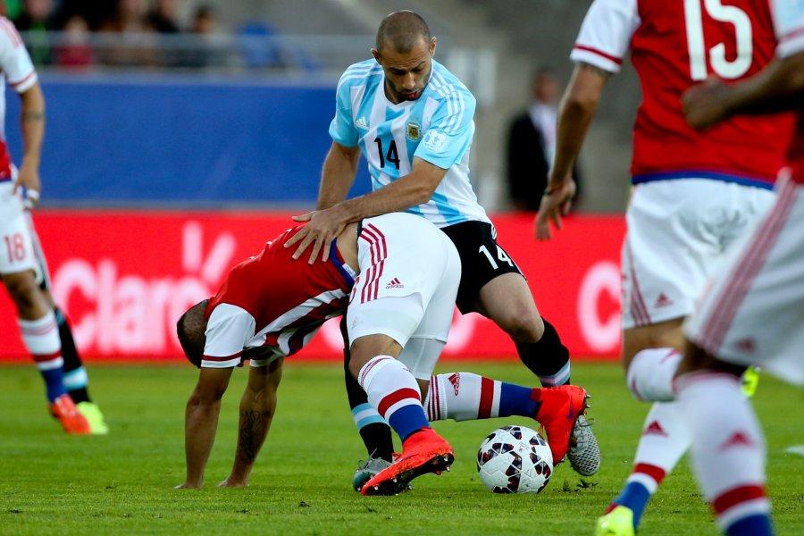 Argentina no pudo con Paraguay2